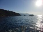 Il tratto di mare da Enfola verso Marciana Marina isola d'Elba