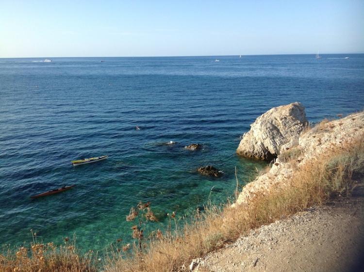Elba island in Tuscany beach sea relax