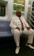 Vestito tipico da messa ad Harlem