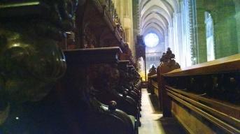 All'interno della chiesa di St Jhon