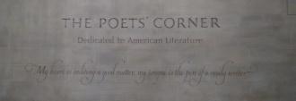 Dentro la chiesa c'è anche un angolo dedicato ai poeti